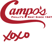 Campo's Philly's Best Since 1947 XOXO