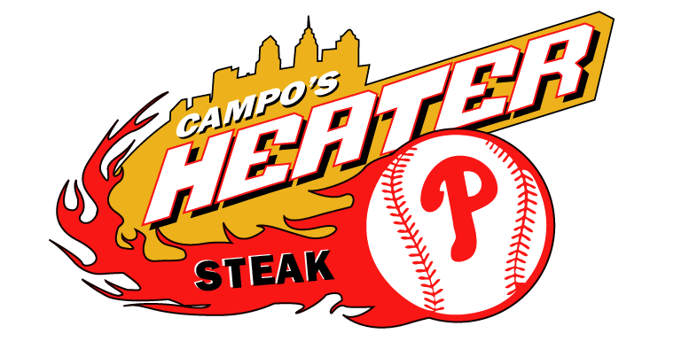 Official Philadelphia Phillies Cheesesteak - The Heater